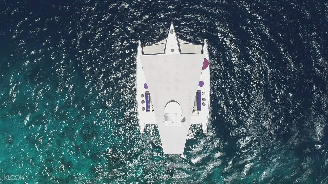 spacious yacht