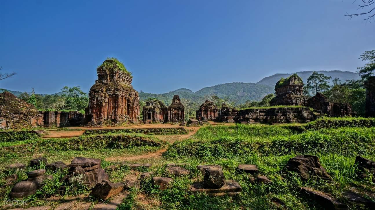 美山圣地 印度教寺庙古塔