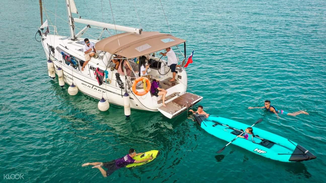 澎湖帆船體驗