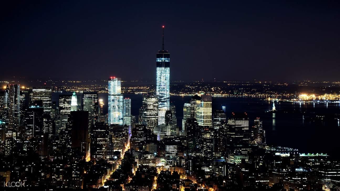 帝国大厦日景 + 夜景通行电子票