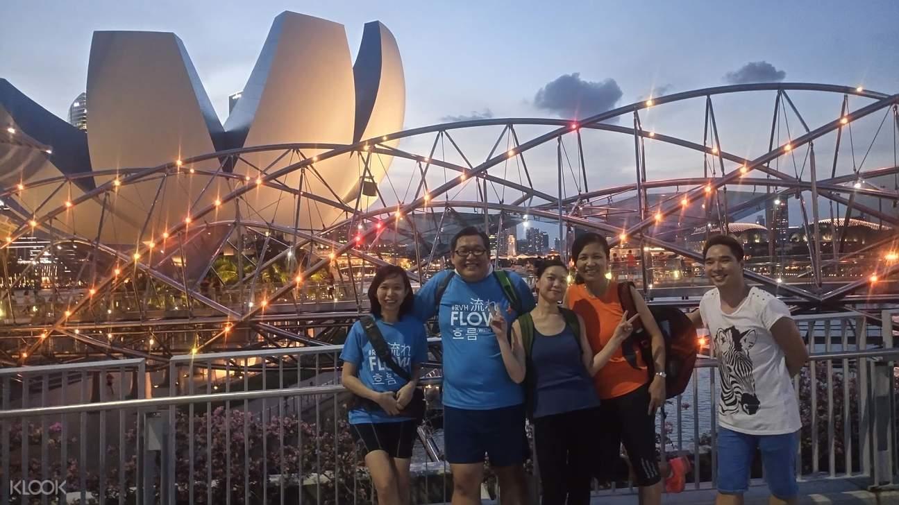 新加坡夜间骑行之旅