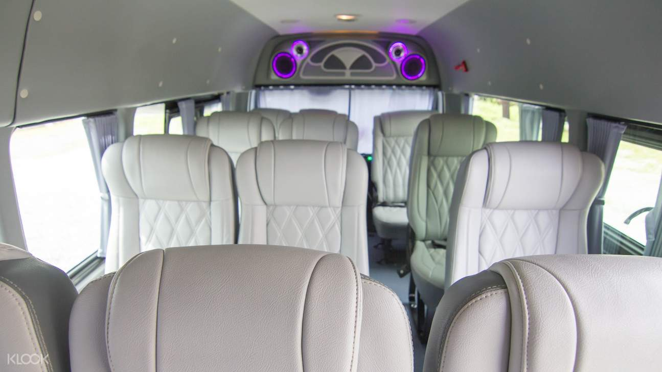 van interiors bangkok car charter
