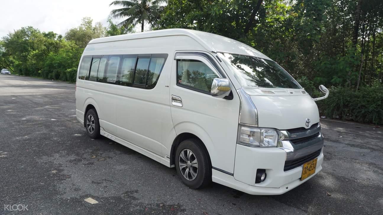 white van in phuket