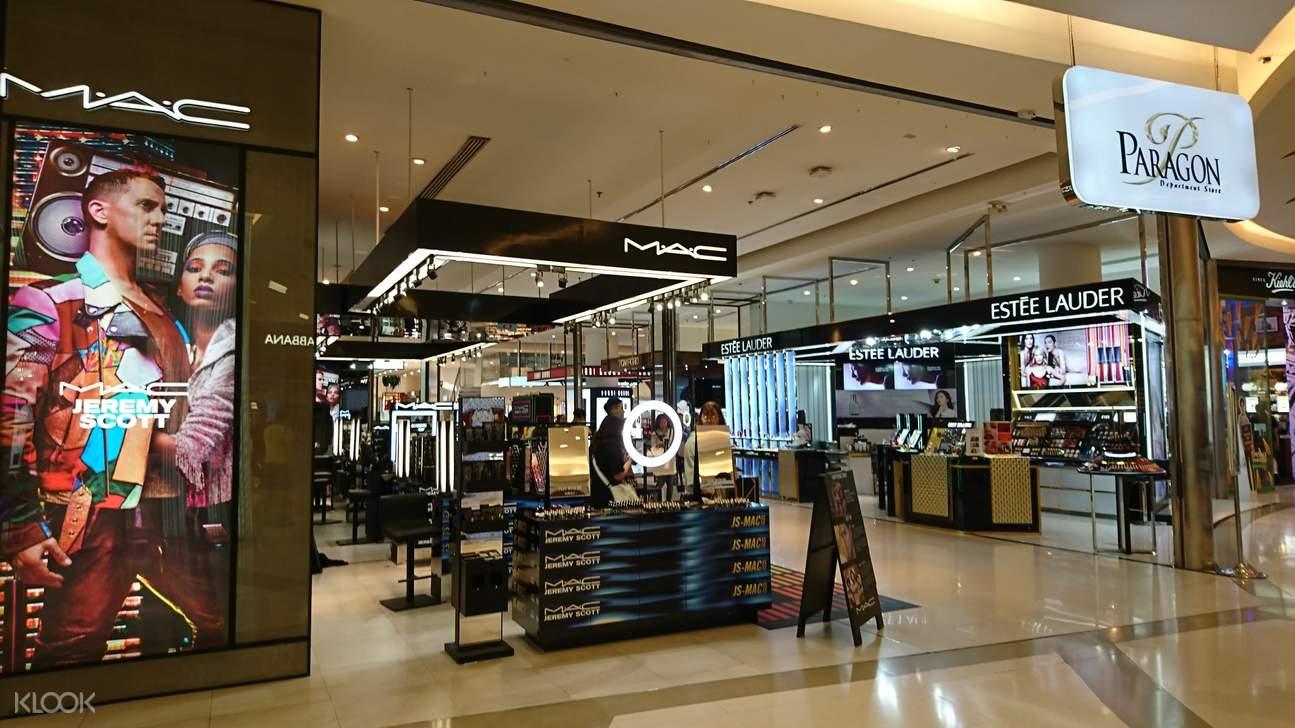beauty stores mac