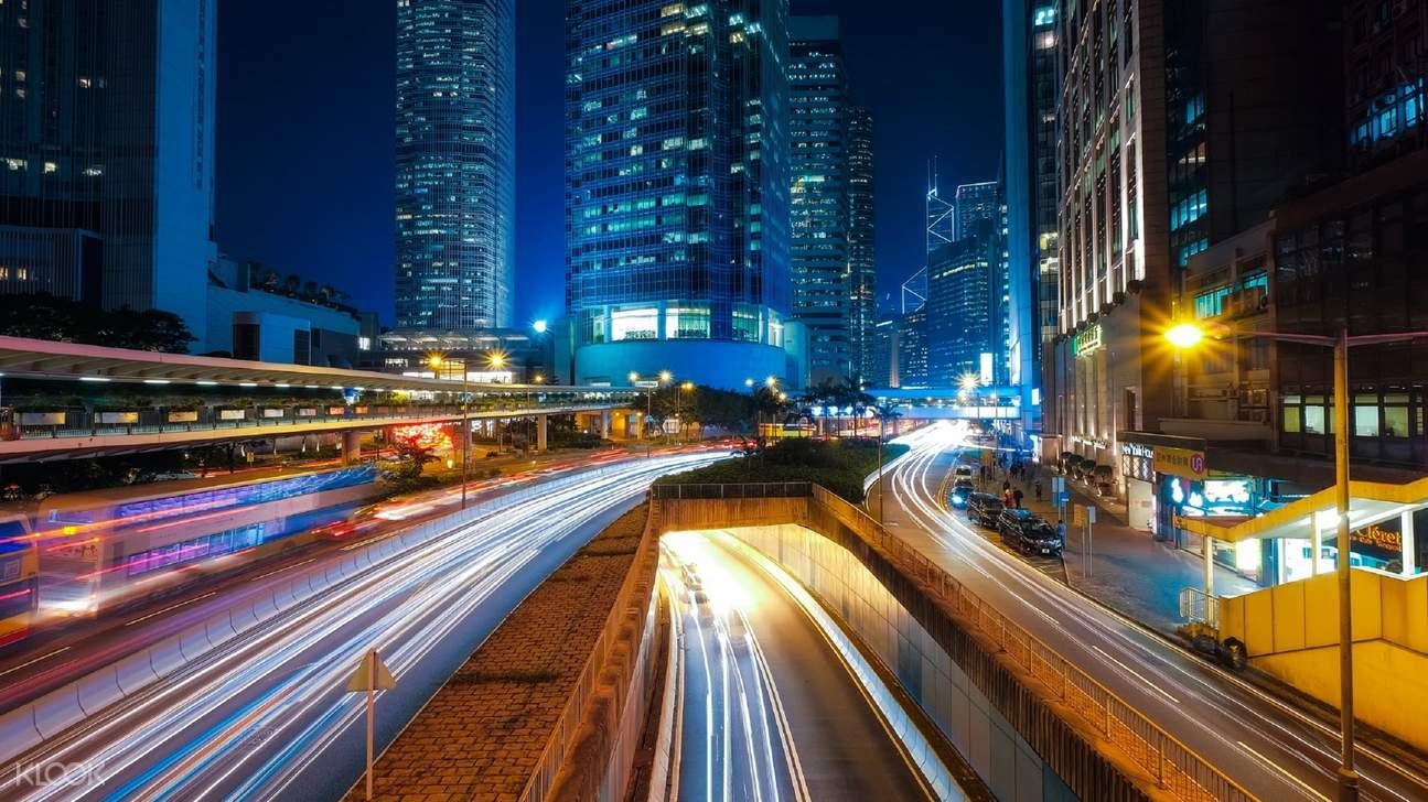 包车游览 香港一日包车(东莞出发)