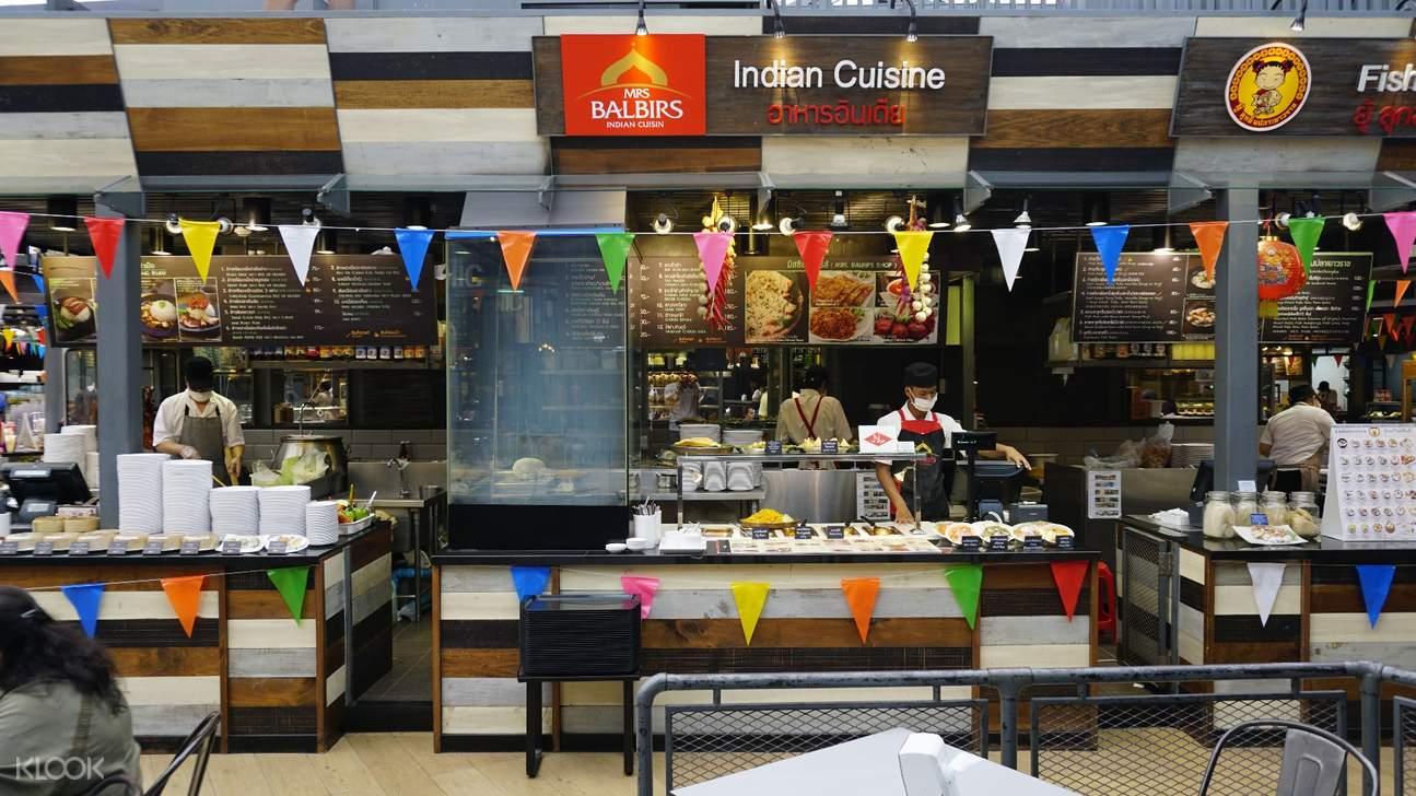indian cuisine Food Republic Siam Center