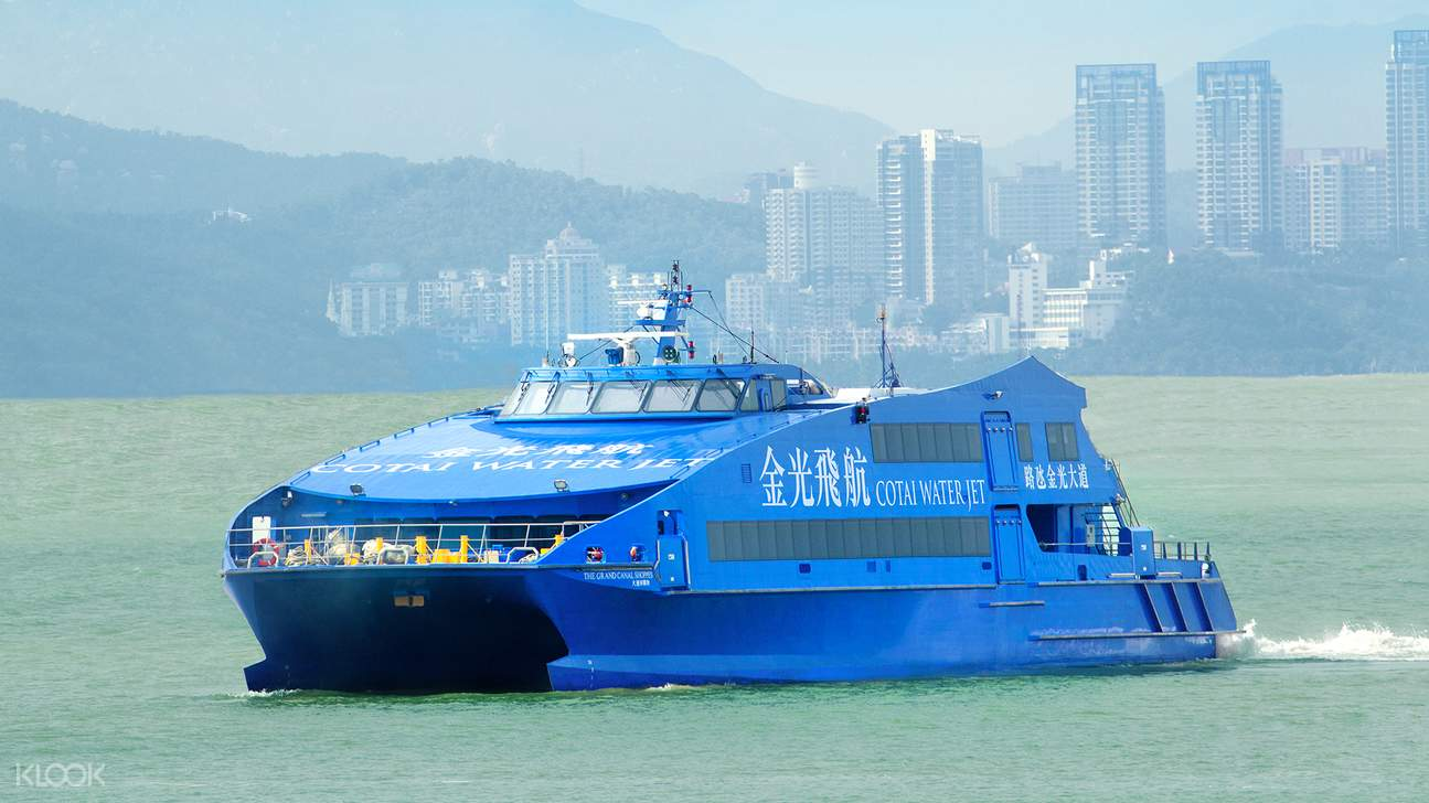 cotaijet ferry, Cotai Water Jet
