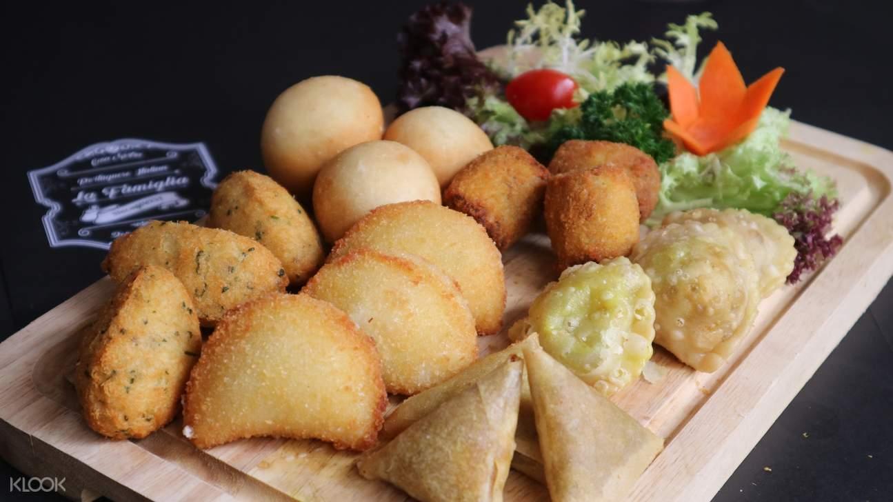 snacks platter la famiglia taipa village