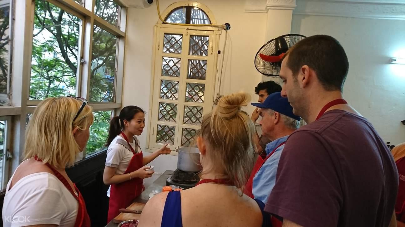 cooking class Hanoi