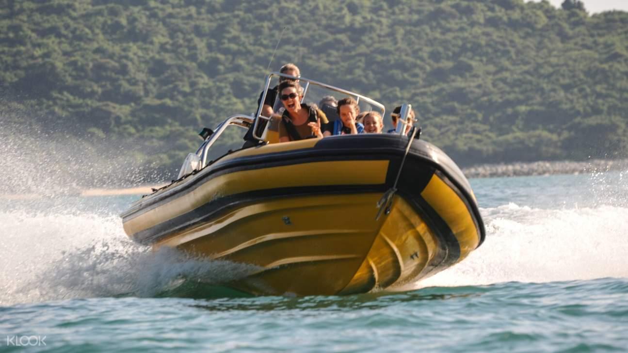 香港 充气艇 Zoom Ribs港岛南环游