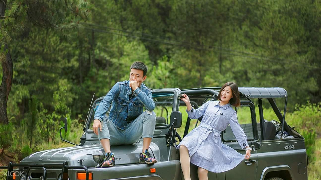 環瀘沽湖旅拍一日遊(乘坐Jeep 車型)