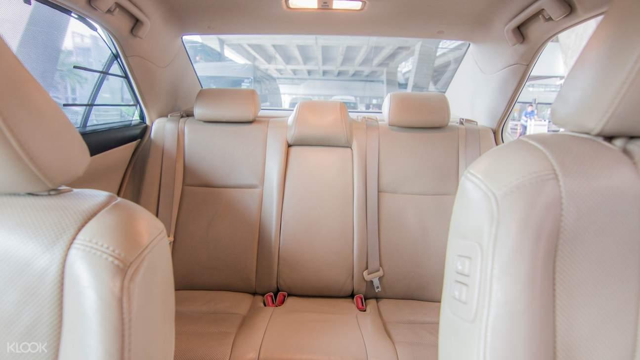 car interiors bangkok car charter