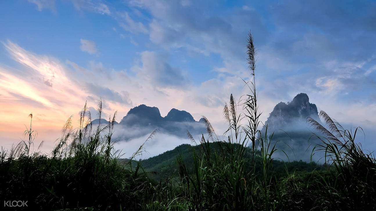 khao sok scenery