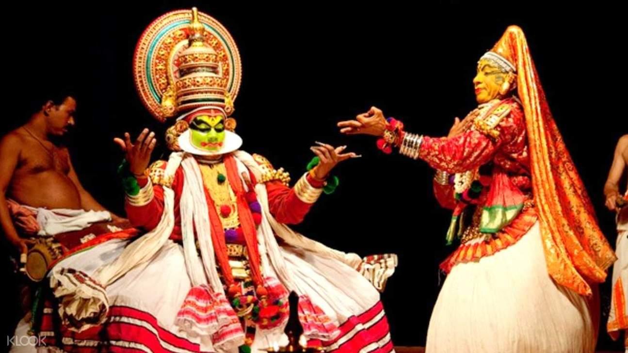 卡塔卡利kathakali表演