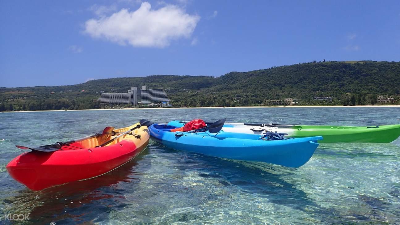 水晶湾皮划艇