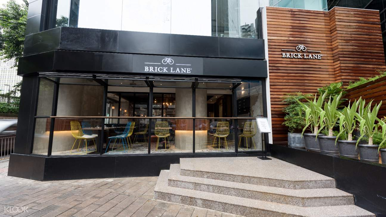 Restaurant Exterior of BRICK LANE in Causeway Bay