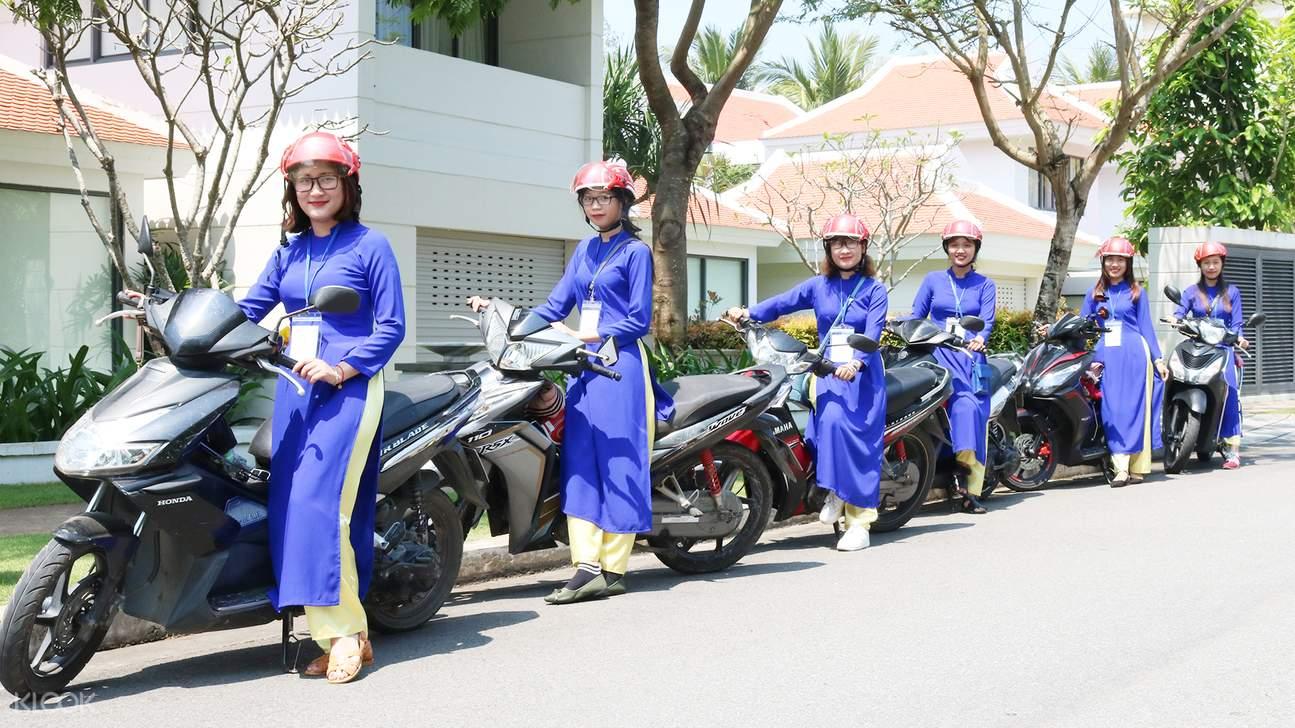 da nang city tour aodai rider