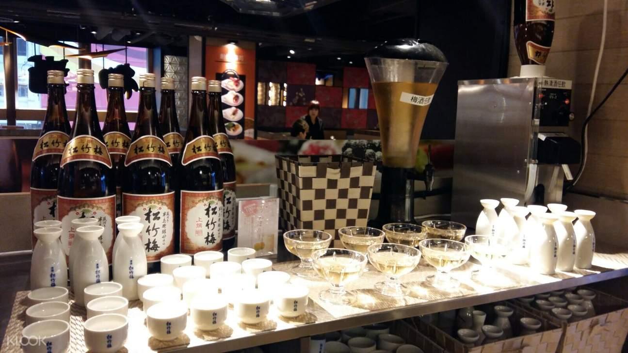 香港旺角御满屋日本料理