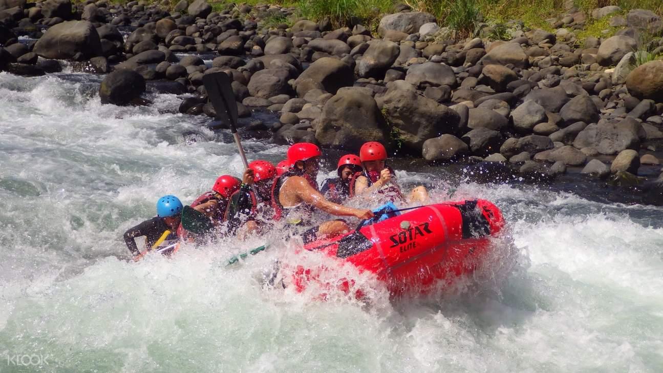 pirdi rafting