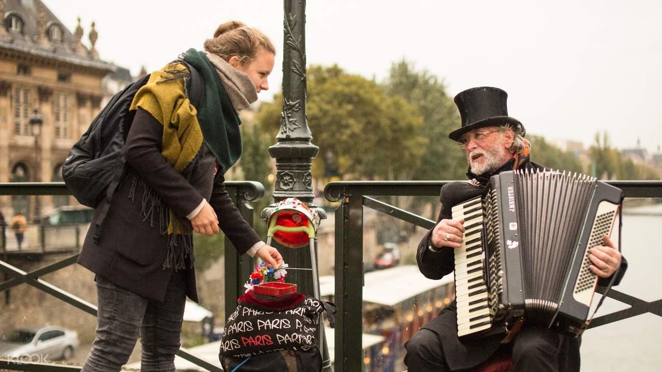 巴黎街頭藝人