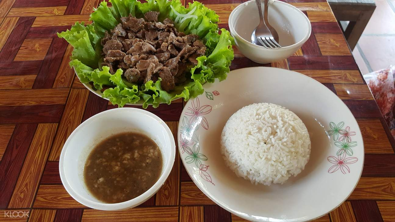 Khmer dish with rice