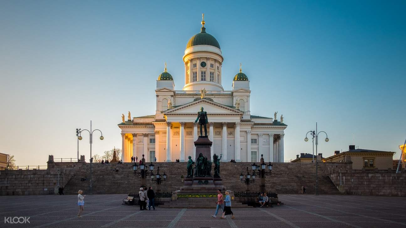 Helsinki Senate Square and Cathedral