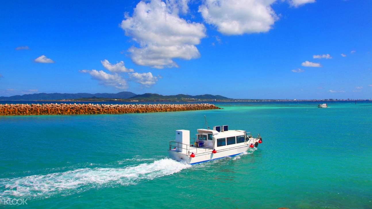 沖繩竹富島水牛車觀光 & 玻璃船之旅