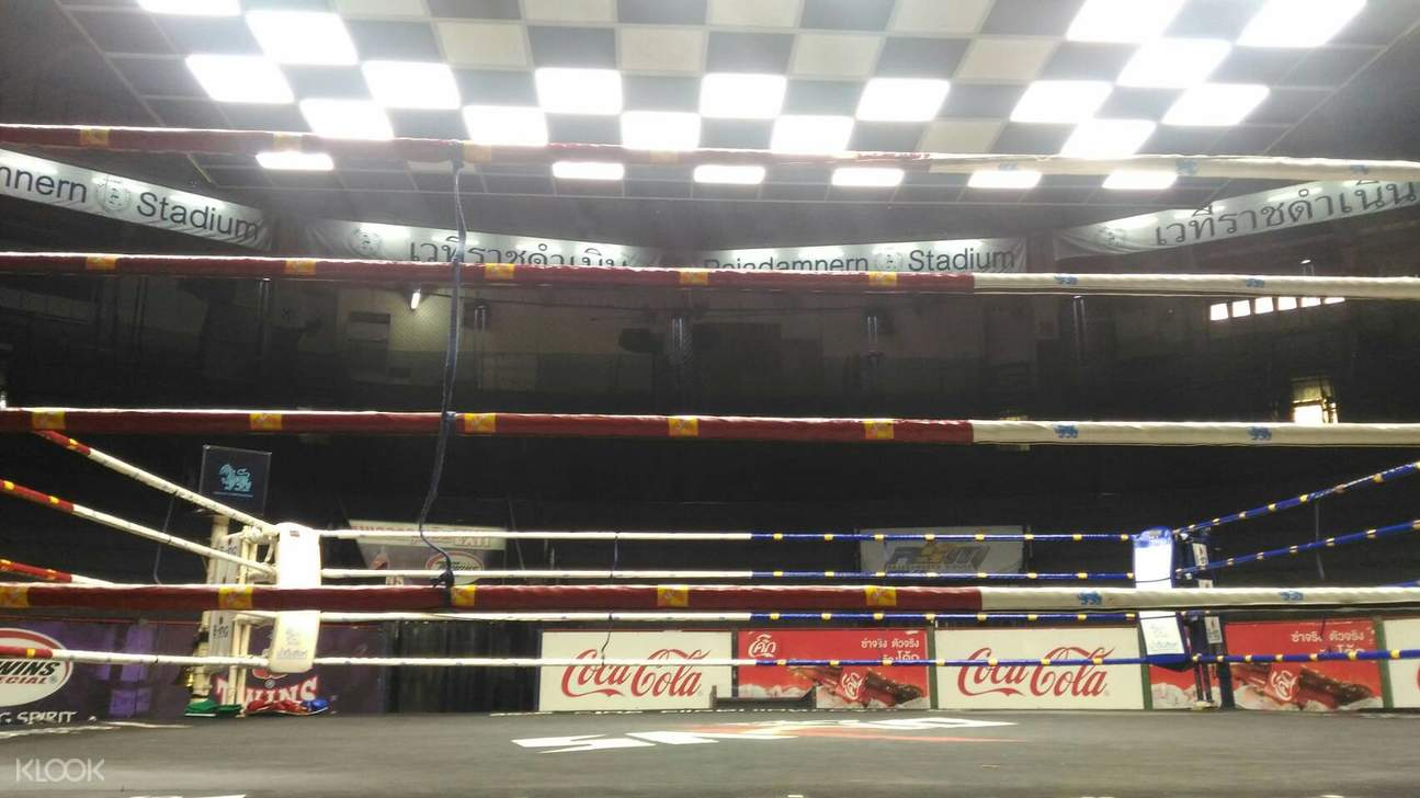 Rajadamnern Stadium Muay Thai fight