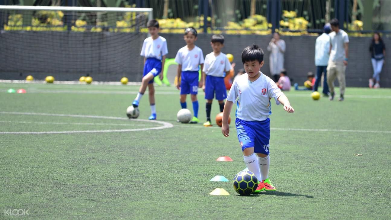 football summer course for kids in hong kong