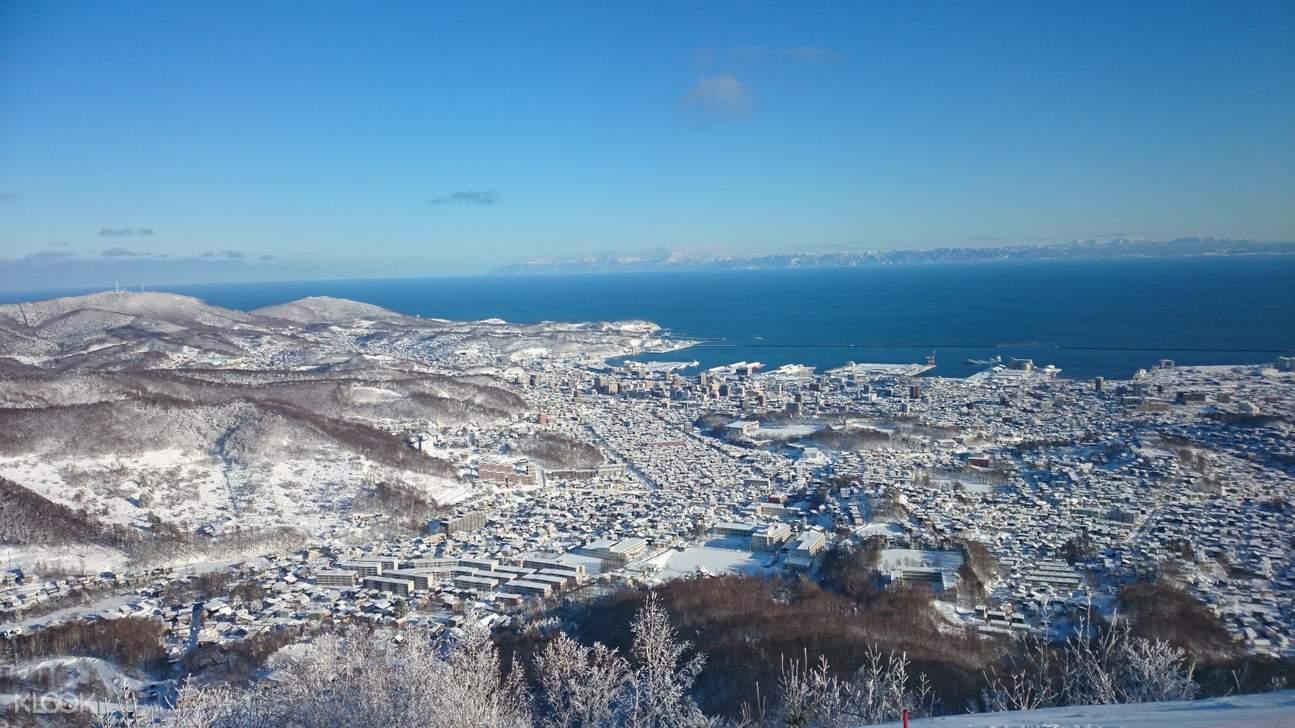 view from tengu ropeway