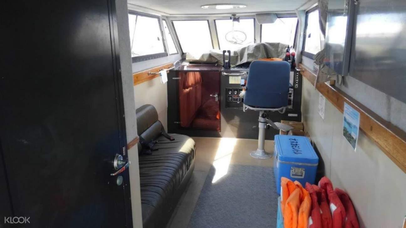 chartered cruise tonaki island