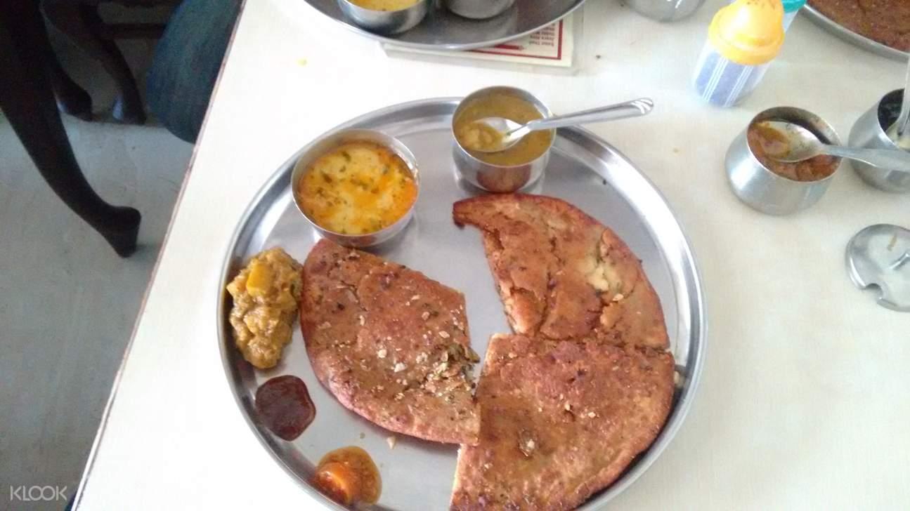 印度 阿格拉美食 pratha