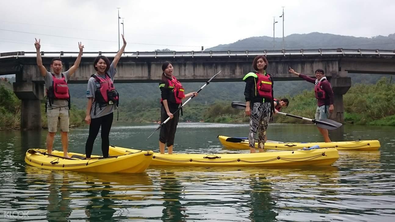 新北贡寮福隆独木舟秘境探险