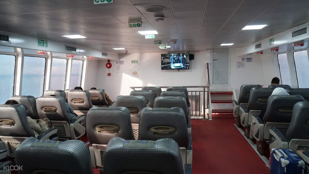 business class oceanjet ferry