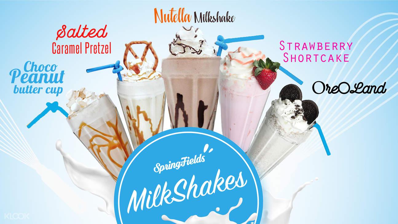discount milkshake