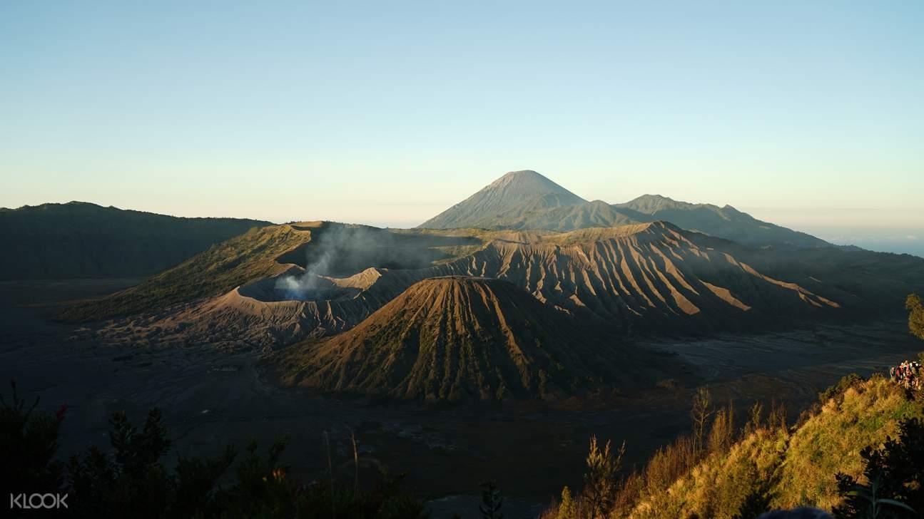 view of the black mountain in surabaya