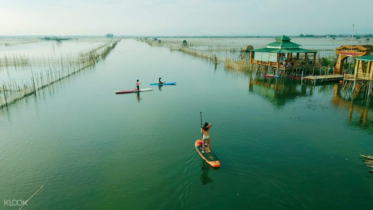 Half-day Chuon Lagoon SUP Tour in Hue