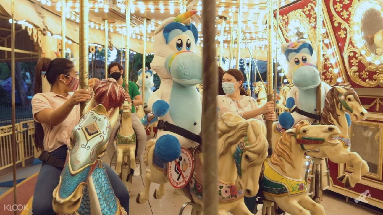carousel enchanted kingdom