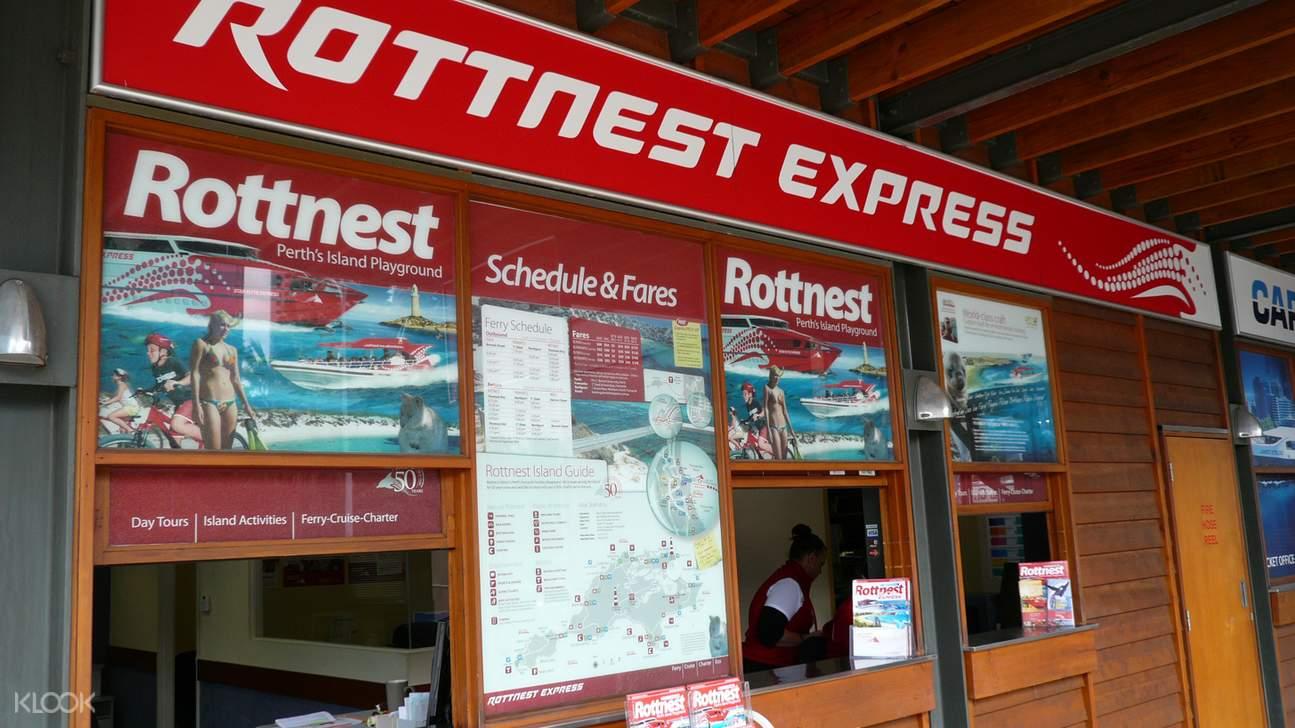 Rottnest Island Ferry Service Barrack Street, Perth Departures