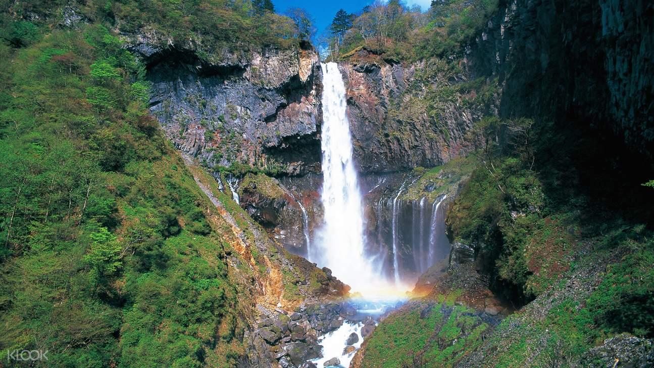 kegon waterfalls in kinugawa