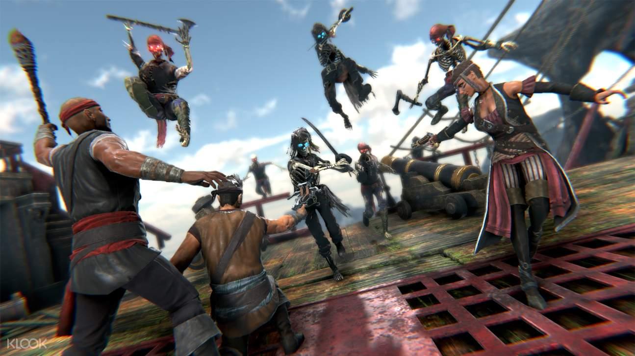 pirates virtual reality game