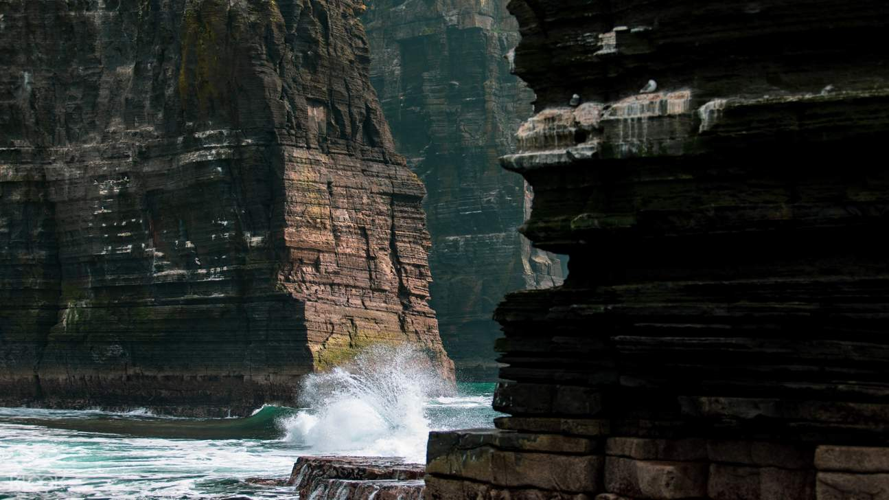 cliff of moher sea cliffs