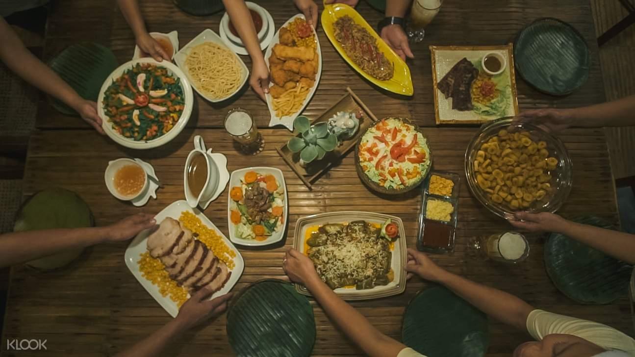 lunch buffet in mount purro