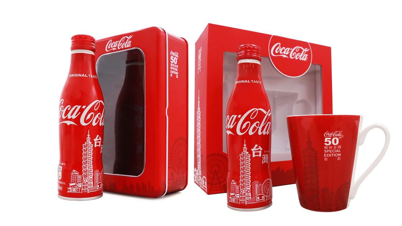 KLOOK客路獨售- 台北101觀景台x 可口可樂限定紀念禮盒套票