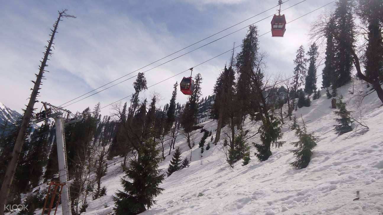 solang valley cable car