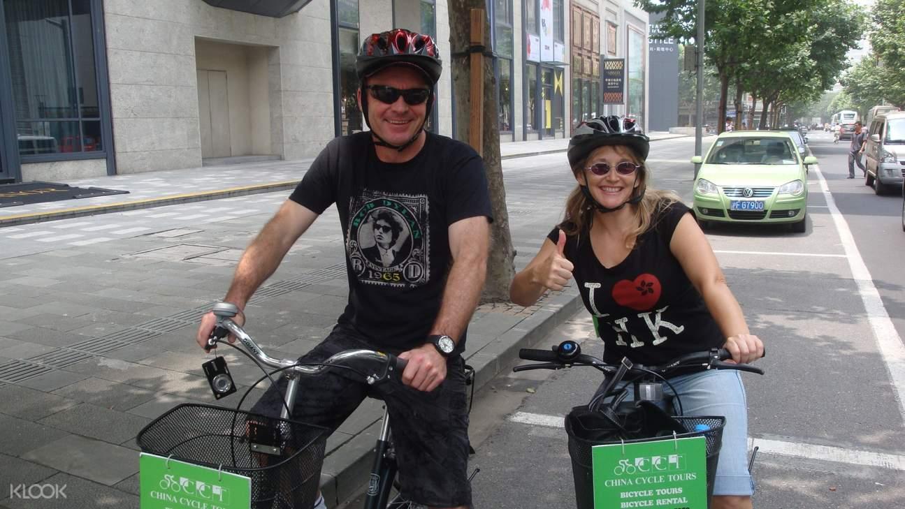 bicycle tour shanghai