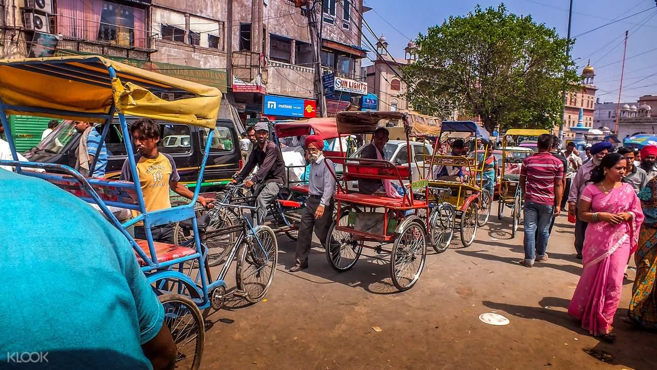 舊德里,紅堡,舊德里徒步,舊德里市場,舊德里寺廟