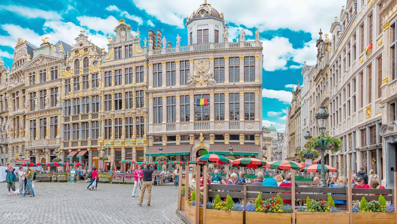 buildings in brussels city center