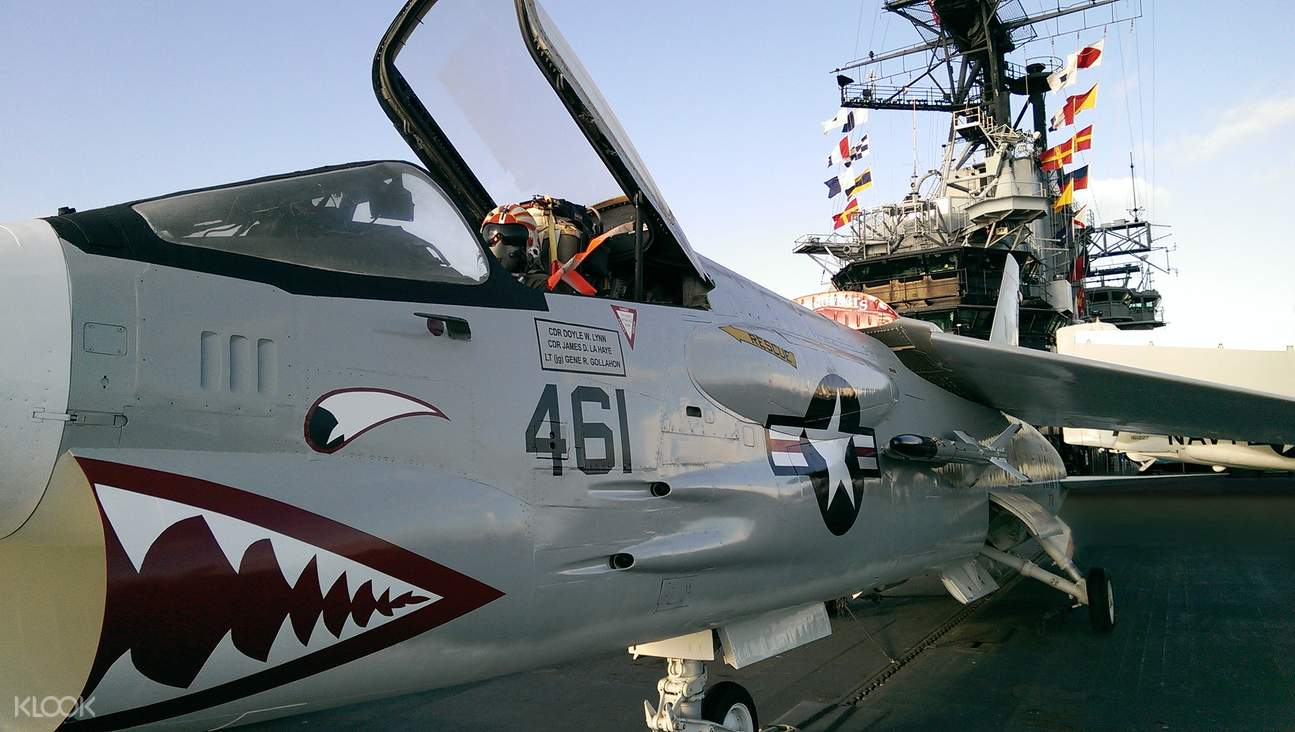 Enjoy a visit to the uss midway museum