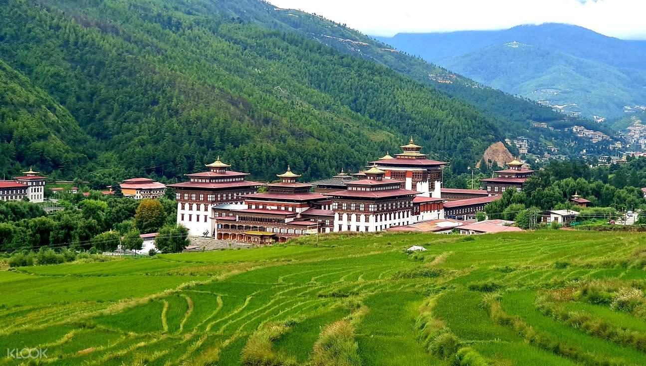 不丹札西秋宗喇嘛城堡線上直播導覽